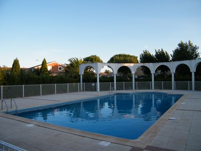 Photo for Holiday home with pool in Valras Plage