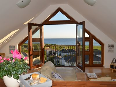 Photo for Luxury Beachside Penthouse with Stunning Sea Views