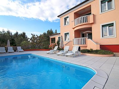 Photo for 2 bedroom Apartment, sleeps 5 in Smirić with Pool, Air Con and WiFi