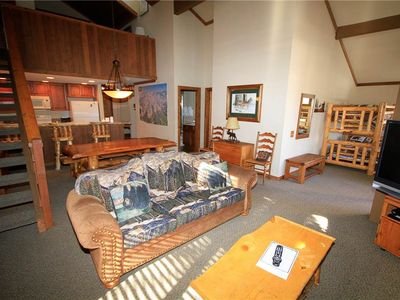 Photo for Mountainback #63 This 2 bedroom with den and loft is near the pool area and shuttle stop!