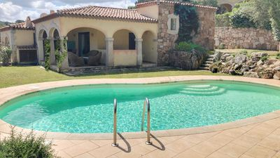 Photo for BAJA SARDINIA NICE VILLA WITH POOL