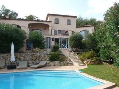 Photo for villa on the 18 hole golf course of Sainte Maxime
