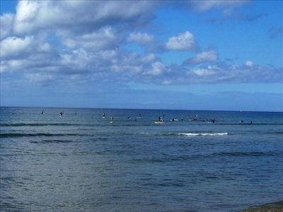 Go Across the Street and Take a Surf or Paddle Board Lesson
