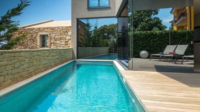 Photo for Beautiful designer villa near Porec