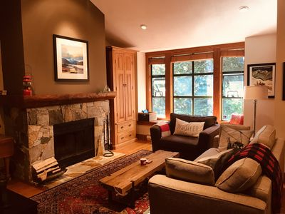Photo for Peaceful, Woodsy Getaway Close to Everything. Casual Elegance for Family Fun
