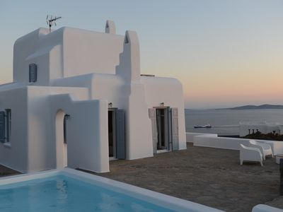 Photo for 5 BDR Villa with Private Pool in Mykonos