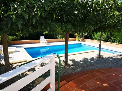 Photo for Villa for 7 people with private garden and pool.