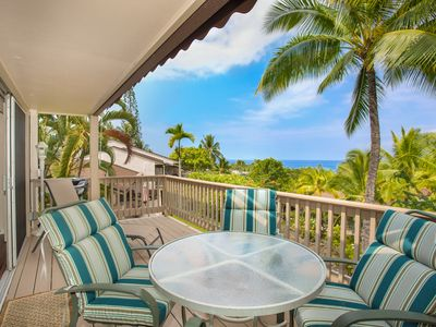 Photo for 1 BR/1 BA Condo with Lanai Kona Coast Views, Close to Shopping Area