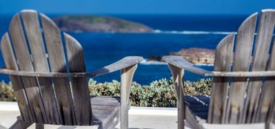 Villa Little Caramba  -  Ocean View - Located in  Wonderful Pointe Milou with Private Pool