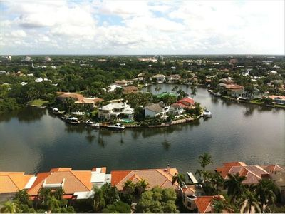 View from our Lanai-Venetian Bay