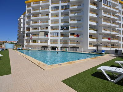 Photo for Apartment T1 Camila panoramic view, pool, barbecue