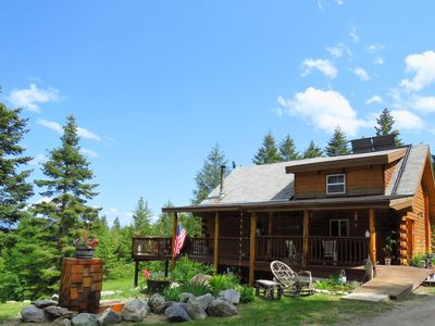 Photo for Quiet Cabin Rental near Flathead Lake in Lakeside Montana