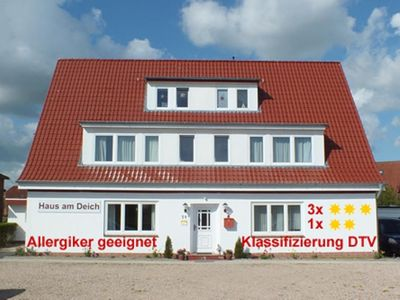 Photo for Haus Am Deich - Apartment with sea view