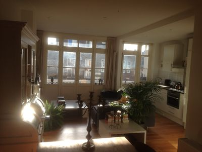 Photo for Nice cozy apartment near city center in a nice, quiet and safe residential area.
