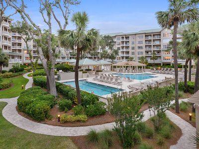Photo for Luxury  Direct Oceanfront   - Steps to beach, golf and tennis