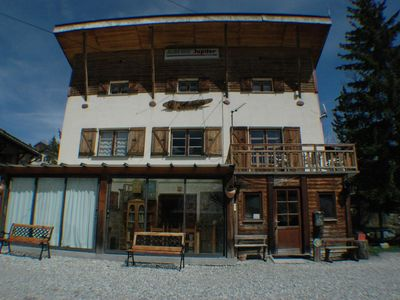 Photo for chalet 3 stars balcony & veranda in the village of ALLOS ds Les ALPES