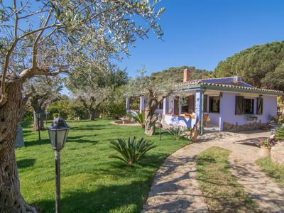 Photo for Villa Solanas, surrounded by a beautiful garden, 1km from the beach, 4Bdr, 3Bth