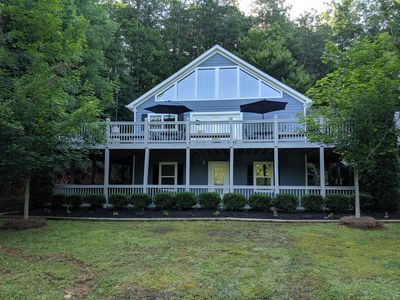 Photo for In Helen, GA - Gated Golf Comm. - Private 4 Bed/4.5 Bath w/Pool Table & Hot Tub