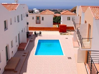Photo for Holiday villa with a roof terrace sea view overlooking Coral Bay