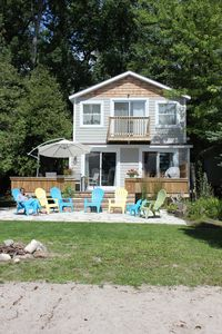 Photo for Modern Cottage  -  White Sandy Beachfront - Family Friendly  - Georgian Bay!