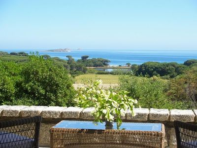 Photo for Villa sea view, pool, private access to the beach of Palombaggia