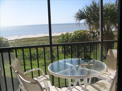 Watch beach activities, and be soothed by the sigh of the sea from this lanai.