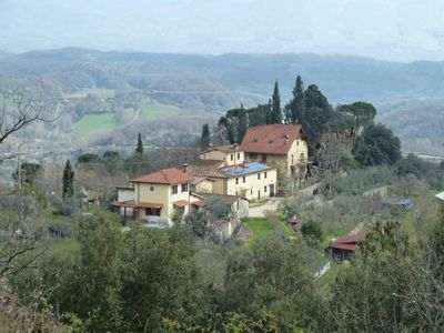 Photo for detached house in the small hamlet of 4 buildings in the Tuscan countryside at com