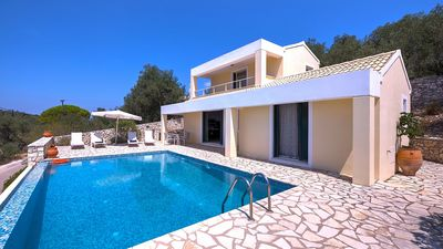 Photo for Villa Liana - Superb Two Bedroom Villa with Air Conditioning, Private Pool and Amazing Sea Views ! FREE WiFi