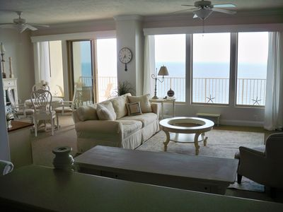 Photo for PENTHOUSE UNIT NEVER RENTED - PRISTINE & GORGEOUS - Includes Beach Service!!!!
