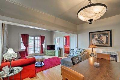 This elegant Bisbee vacation rental apartment awaits your arrival.