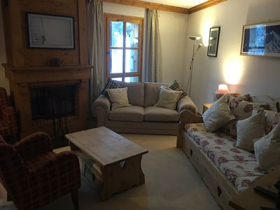 Photo for Perfectly located, refurbished , ski-in/ski-out, duplex apartment.