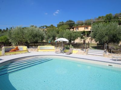 Photo for Penna San Giovanni Apartment, Sleeps 2 with Pool, Air Con and WiFi