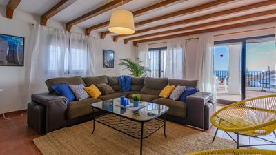 Photo for Holiday home in Nerja at 2 km from the beach - sleeps 8