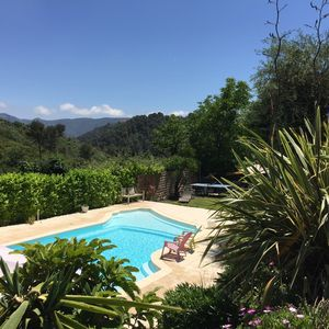 Photo for Private Pool Apartment 15 mins from Nice