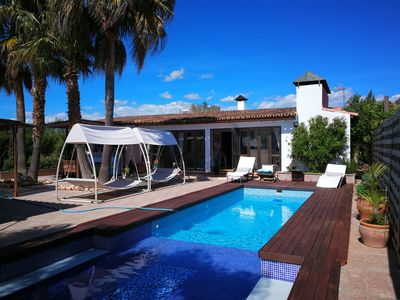 Photo for Rural Family Finca near Llucmajor with private pool and clay padeltennis court