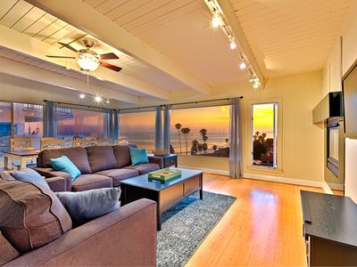 Photo for 25% OFF JULY - Beach Home w/ Endless Ocean Views, Walk to Sand + More