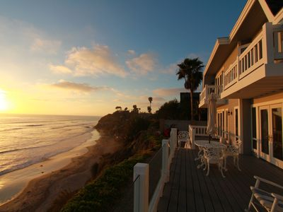 Photo for Impeccable Cape Cod Oceanfront Home Overlooking Swami's Beach.