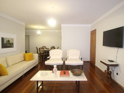 Photo for APARTMENT WITH 04 ROOMS FURNISHED IN THE BETTER PLACE OF AV GOOD TRIP.