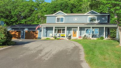 Photo for Beautiful view of the West Gd Traverse Bay in a new home, only 4 miles from