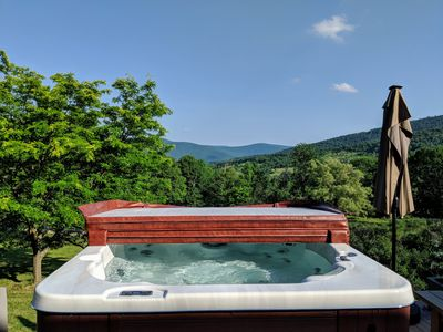Photo for HEATED POOL, Summer time! Amazing property with Views, HOT TUB, POOL.