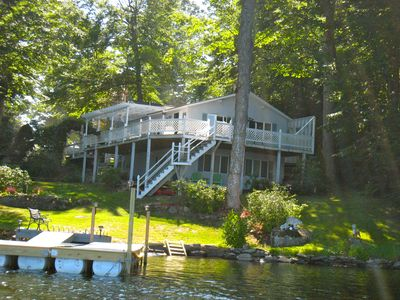 Photo for Great  Vacation Home on 9 Mile Cobbossee Lake in Monmouth