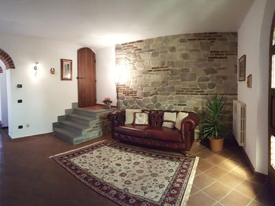 Photo for Casa Leonardo in the Tuscan countryside near Florence Prato and Pistoia