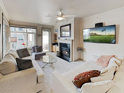Photo for New Listing! Waterfront Condo w/ Fitness Center, Hot Tub & Central AC