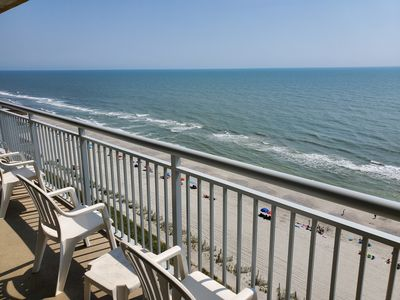 Flexible Cancellation Policy! Stunning 3 BR, 3 Bath Grand Atlantic Oceanfront