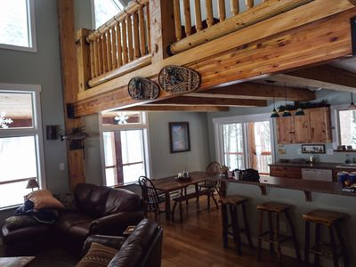 Photo for Beautiful Log House. Close to McCall. Tranquil & Spacious.