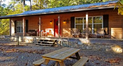 Photo for Indian Time: Sleeps 6, Hot Tub, Pet Friendly, Wifi