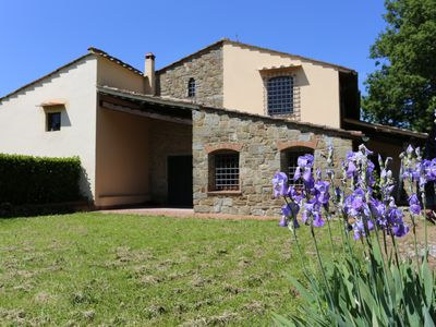 Photo for Portion of Villa on Florentine Hills with air conditioning and pool