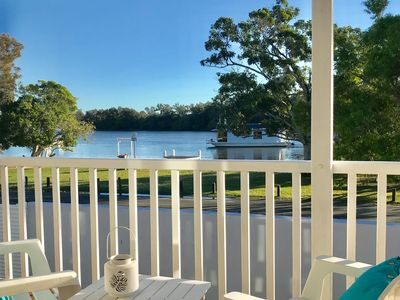 Photo for Noosaville Totally Renovated River House in an Idyllic Riverside Location