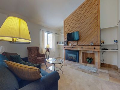 Photo for NEW LISTING! Cozy condo loft w/nearby ski shuttle stop, shared pool & hot tub