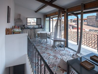 Photo for CHARMING DUPLEX in INTRA MUROS with spacious balcony and rooftop views